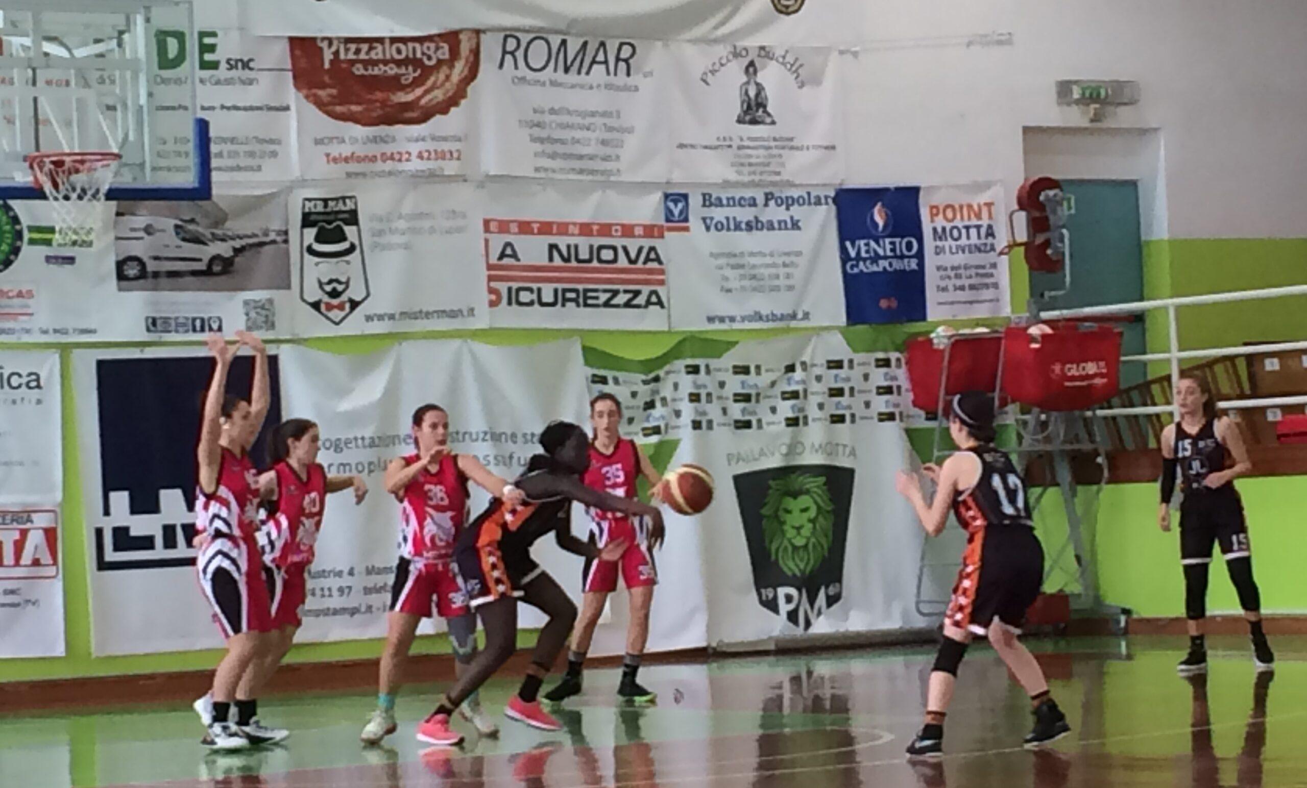 U16: PRIMO QUARTO FATALE VS MOTTA